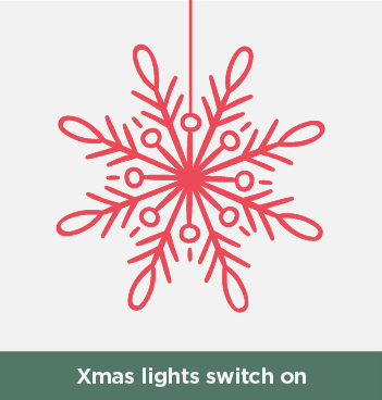 Christmas Lights Switch On – 13th November